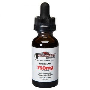 blackhawk 750 mg cbd isolate oil