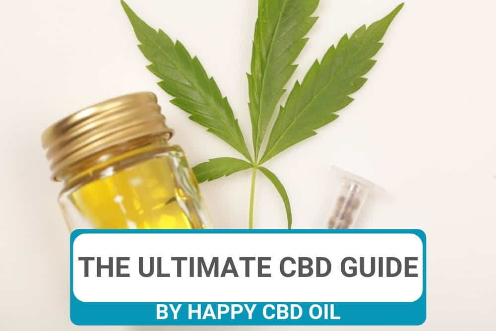 THE ULTIMATE GUIDE TO CBD OIL HEADER
